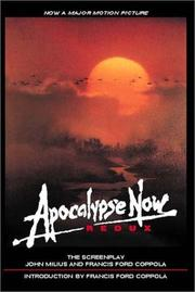 Cover of: Apocalypse now redux | John Milius