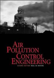 Cover of: Air Pollution Control Engineering | Noel de Nevers