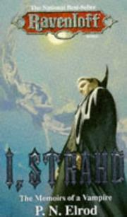 Cover of: I, Strahd | P. N. Elrod