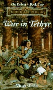 Cover of: War in Tethyr (Forgotten Realms: The Nobles #2) | Victor Milán
