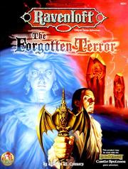Cover of: The Forgotten Terror (AD&D Fantasy Roleplaying, Ravenloft/Forgotten Realms) | William W. Connors