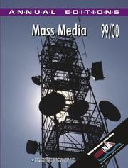 Cover of: Mass Media 99/00 by Joan Gorham