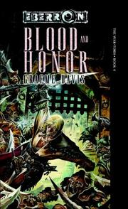 Cover of: Blood and Honor | Graeme Davis