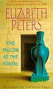 Cover of: Falcon at the Portal (Amelia Peabody Mysteries (Audio)) | Elizabeth Peters