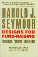 Cover of: Designs for fund-raising by Harold J. Seymour