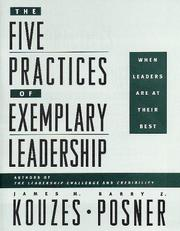 Cover of: The Five Practices of Exemplary Leadership | James M. Kouzes
