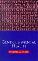 Cover of: Gender and Mental Health | Pauline Prior