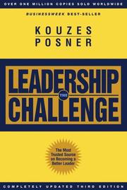 Cover of: The Leadership Challenge | James M. Kouzes, James M. Kouzes
