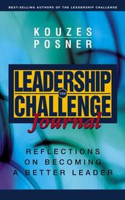 Cover of: The Leadership Challenge Journal | James M. Kouzes