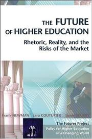 Cover of: The future of higher education | Newman, Frank