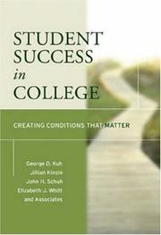 Cover of: Student Success in College | John H. Schuh
