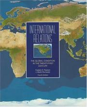 Cover of: International relations by Frederic S. Pearson