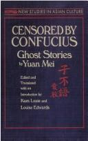 Cover of: Censored by Confucius | Mei, Yuan.