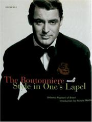 Cover of: The boutonniere | Umberto Angeloni