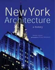 Cover of: New York Architecture | Richard Berenholtz