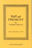 Cover of: Past and present by Thomas Carlyle