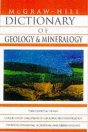 Cover of: Dictionary of Geology and Mineralogy by Sybil P. Parker