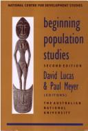 Cover of: Beginning Population Studies by David Lucas