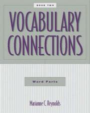 Cover of: Vocabulary Connections | Marianne C. Reynolds