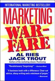 Cover of: Marketing Warfare | Jack Trout