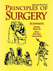 Cover of: Principles of Surgery, Single Volume by Seymour I. Schwartz