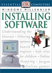 Cover of: Installing software | Andy Ashdown