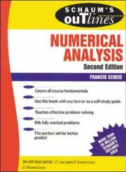 Cover of: Schaum's outline of theory and problems of numerical analysis by Francis J. Scheid