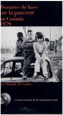 Cover of: Canadian fact book on poverty, 1979 | Donald Caskie