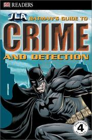 Cover of: Batman's Guide to Crime & Detection | Michael Teitelbaum