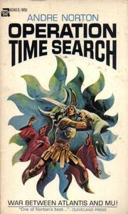 Cover of: Operation Time Search | Andre Norton