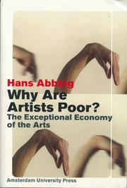Cover of: Why are artists poor? by Hans Abbing