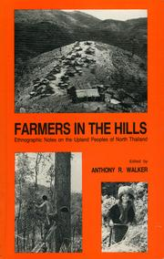 Cover of: Farmers in the Hills by Anthony R. Walker