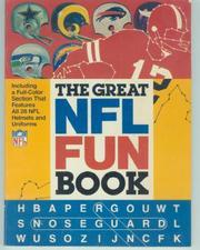 Cover of: Great NFL Fun Book by Brondfield
