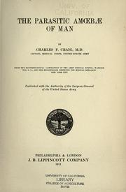 Cover of: The parasitic amoebae of man | Charles Franklin Craig