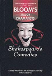 Cover of: Shakespeare's comedies | Harold Bloom