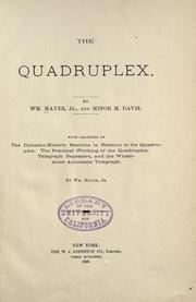 Cover of: The quadruplex by Maver, William jr.