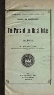Cover of: The ports of the Dutch Indies by Wouter Cool jr