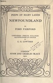 Cover of: Newfoundland | Ford Fairford