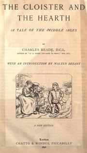 Cover of: The Cloister and the Hearth by Chales Reade