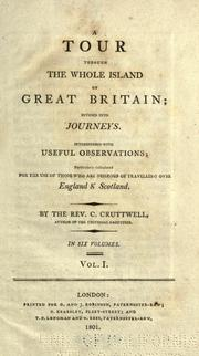 Cover of: A tour through the whole island of Great Britain by Clement Cruttwell