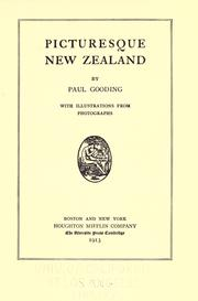 Cover of: Picturesque New Zealand | David Paul Gooding
