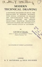 Cover of: Modern technical drawing by Ellis, George