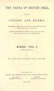 Cover of: Birds by Edward Charles Stuart Baker