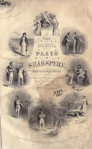Cover of: The doubtful plays of Shakspere, revised from the original editions with historical and analytical introductions and notes critical and explanatory by Henry Tyrrell by Tyrrell, Henry.