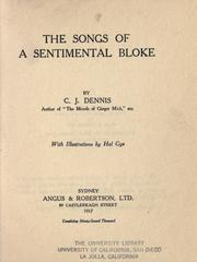 Cover of: The songs of a sentimental bloke | C. J. Dennis