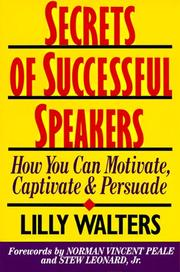 Cover of: Secrets of Successful Speakers | Lilly Walters