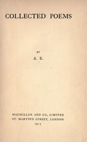 Cover of: Collected poems by George William Russell
