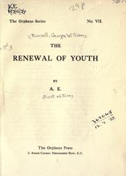 Cover of: The renewal of youth by George William Russell