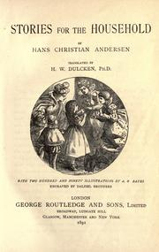 Cover of: Fairy tales and stories by Hans Christian Andersen