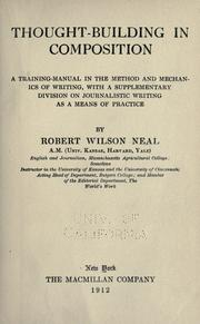 Cover of: Thought-building in composition by Neal, Robert Wilson